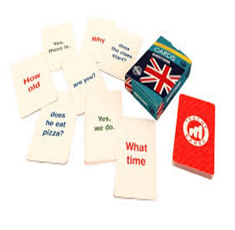 CARDS QUESTIONS A1/A2 - Teachy Games