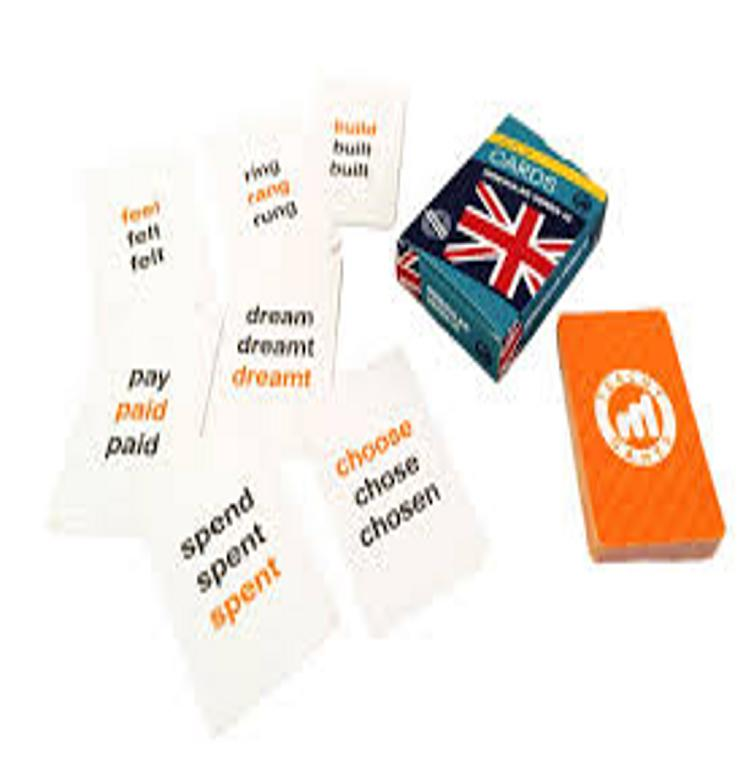 CARDS IRREGULAR VERBS III B1 - Teachy Games