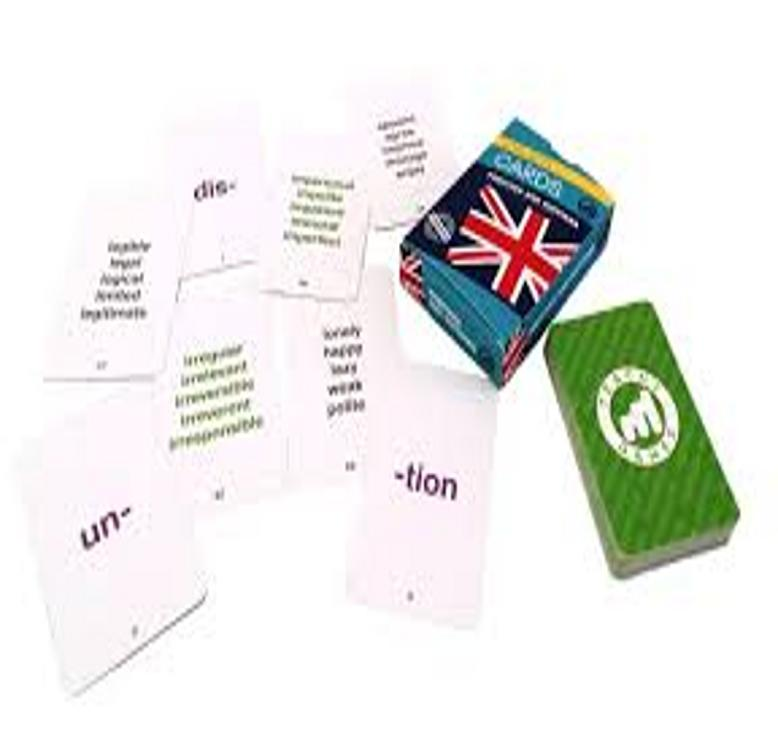 CARDS PREFIXES AND SUFFIXES B2/C1 - Teachy Games
