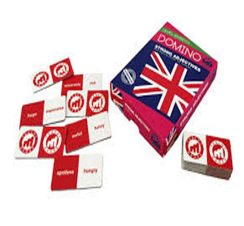 DOMINO STRONG ADJECTIVES B1-C1 - Teachy Games