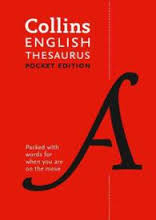 COLLINS POCKET THESAURUS Ed. 2016