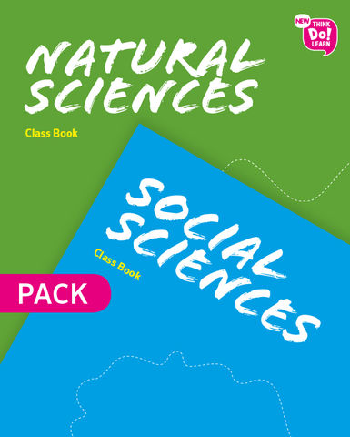 SOCIAL AND NATURAL SCIENCES 1º PRIM SB - New Think Do Learn Pack