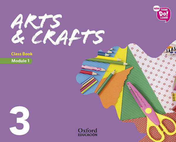 ARTS AND CRAFTS 3.1  SB - New Think Do Learn
