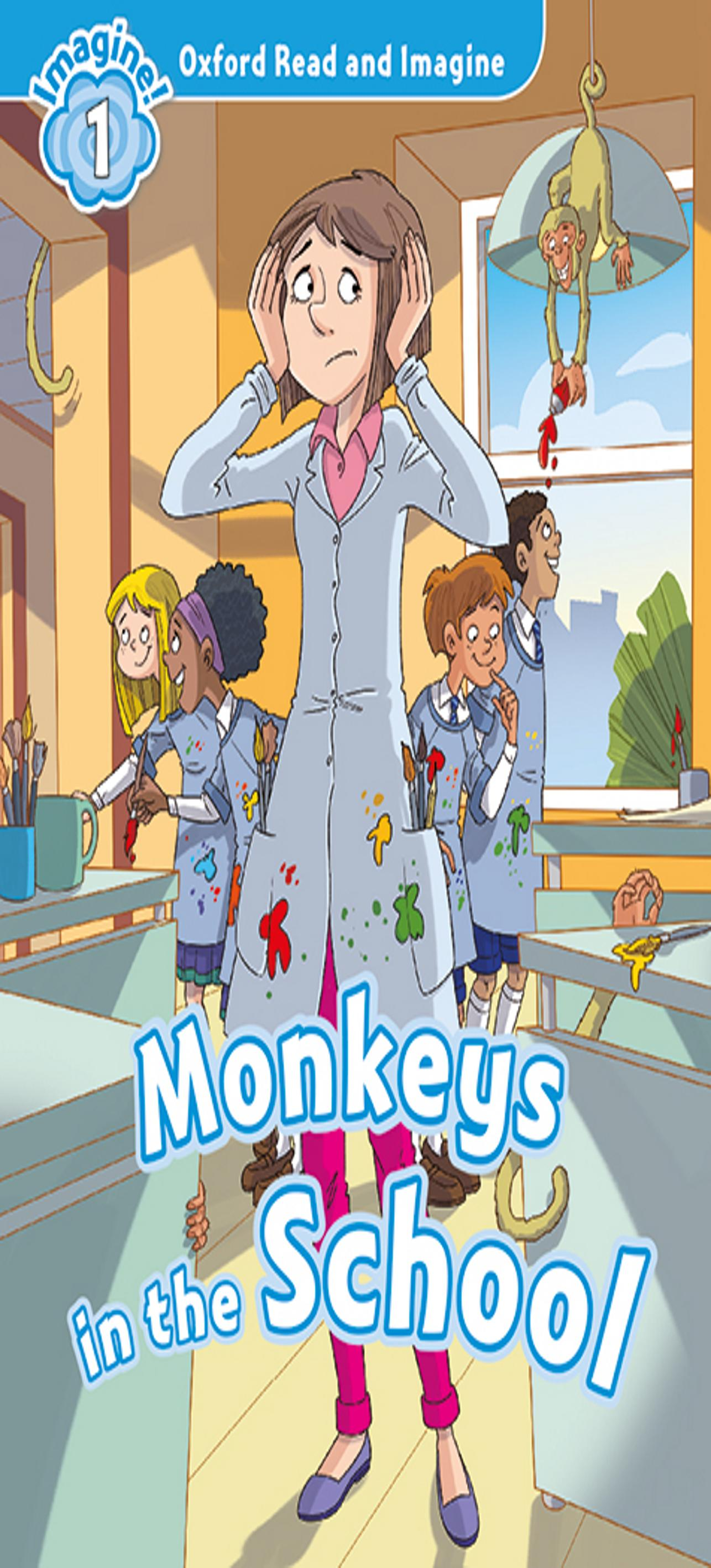 MONKEYS IN SCHOOL + MP3 - ORI 1