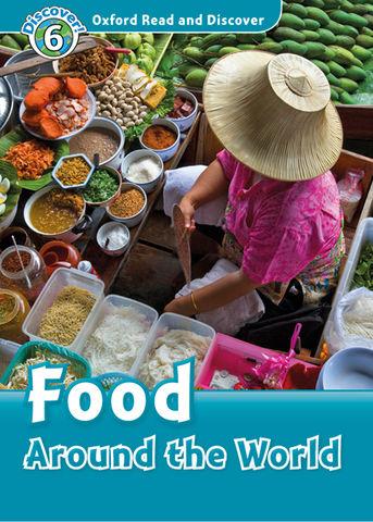 FOOD AROUND THE WORLD + MP3 - ORAD Discover 6