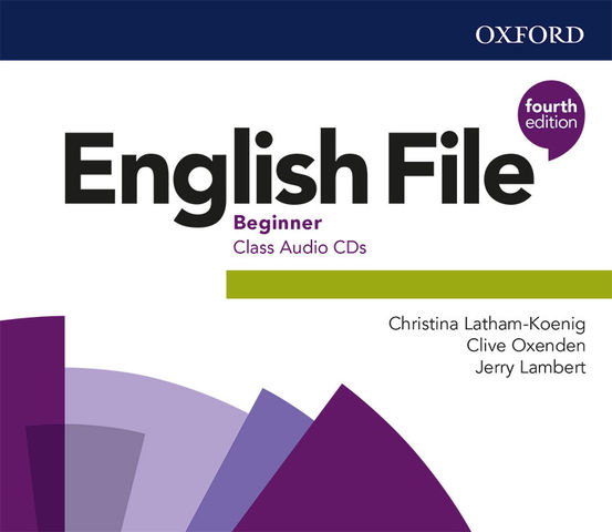 ENGLISH FILE BEG CLASS CD AUDIO 4Ed