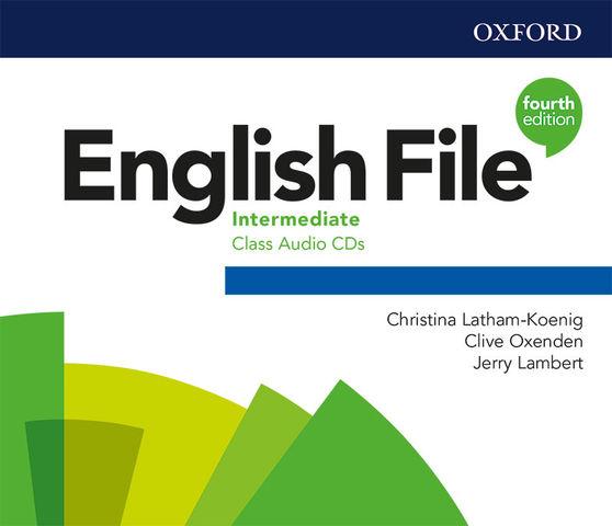 ENGLISH FILE B1 INTERMEDIATE CLASS CD 4th Ed