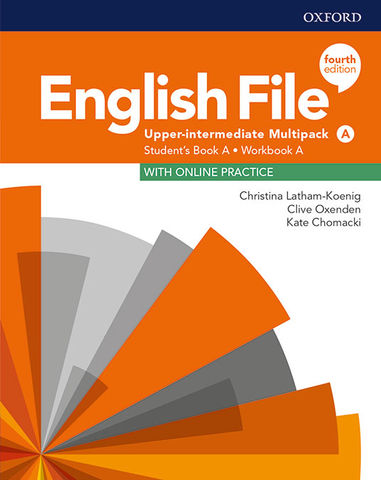 ENGLISH FILE UPPER- INTERMEDIATE MULTIPACK A SB + Online Prac + WB Key