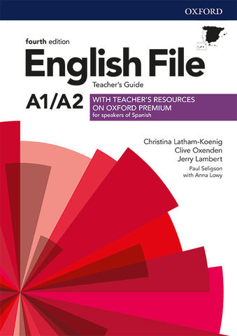 ENGLISH FILE A1/A2  ELEMENTARY TB & Teacher´s Resource Pack 4th Ed