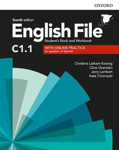 ENGLISH FILE ADVANCED C1.1 SB +  WB PACK with key  4th edition