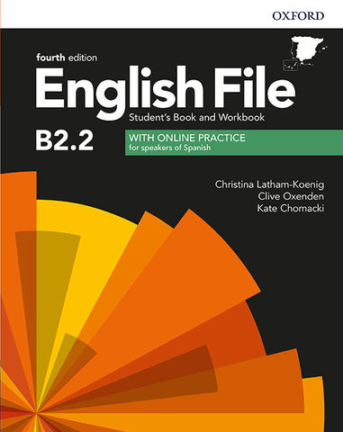 ENGLISH FILE UPPER- INTERMEDIATE B2.2 SB + WB PACK with key 4th Edit