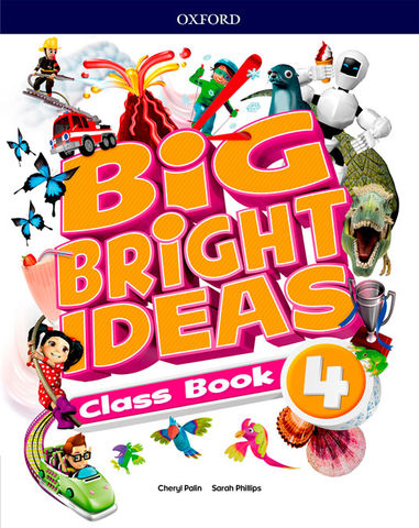 BIG BRIGHT IDEAS 4 SB