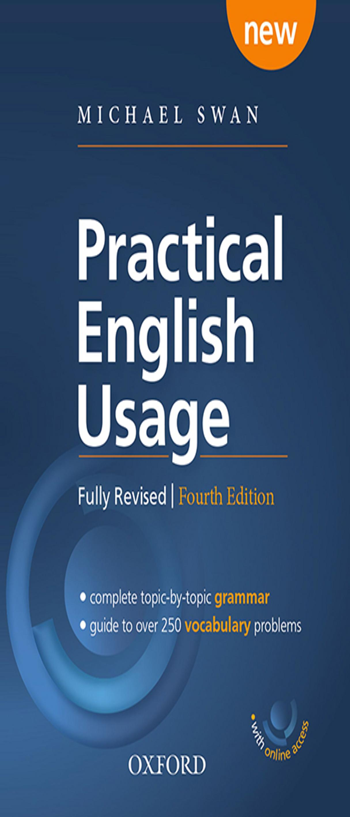 PRACTICAL ENGLISH USAGE + Online Access 4th Ed