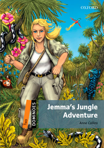 JEMMA´S JUNGLE ADVENTURE + Digital Code - Dominoes 2