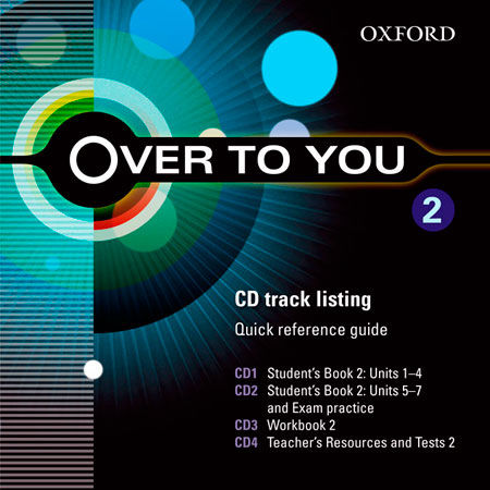 OVER TO YOU 2 CLASS CD