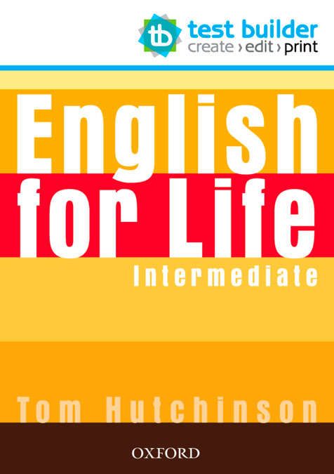 ENGLISH FOR LIFE INTERM TEST BUILDER DVD ROM