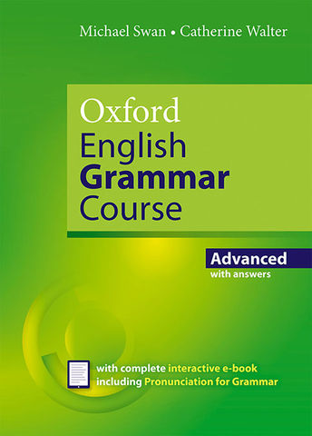 OXFORD ENGLISH GRAMMAR COURSE AVD with Answers + CD ROM