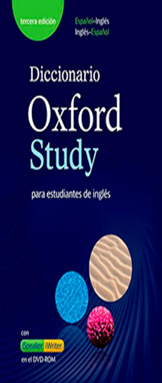 DICC OXFORD STUDY Inglés - Esp + CD ROM 3rd Ed