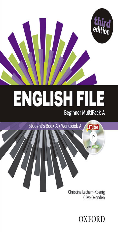 ENGLISH FILE BEGINNER SB +  WB MULTIPACK A Multirom + WB Key 3rd Ed