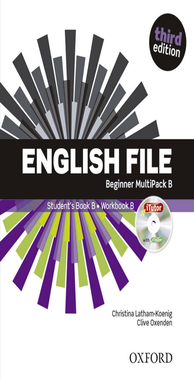 ENGLISH FILE BEGINNER SB +  WB MULTIPACK B Multirom + WB Key 3rd Ed