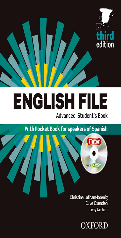 ENGLISH FILE ADVANCED SB +  WB MULTIPACK B Multirom + WB Key 3rd Ed