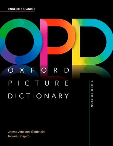 OXFORD PICTURE DICTIONARY 3rd Ed English - Spanjsh