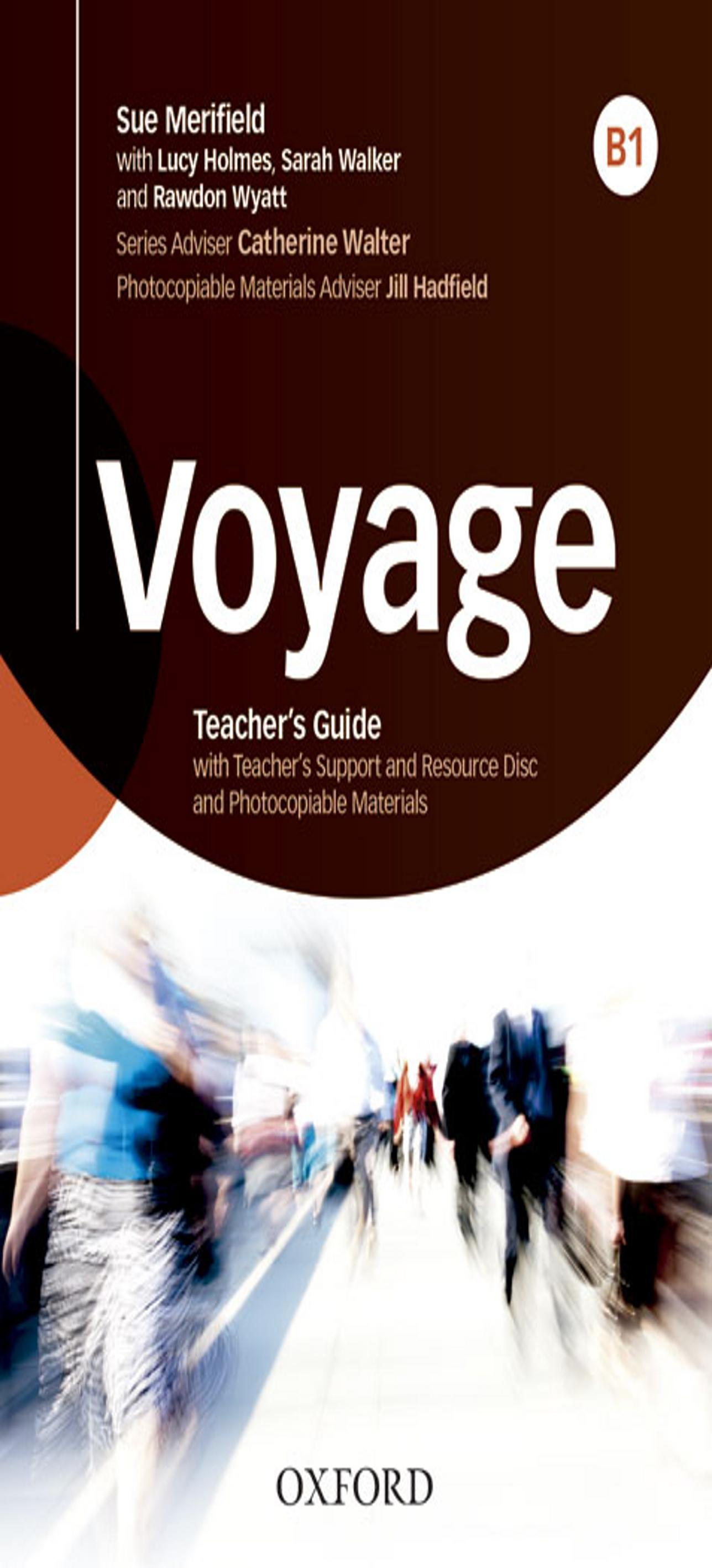 VOYAGE B1 Teacher book + CD - Rom