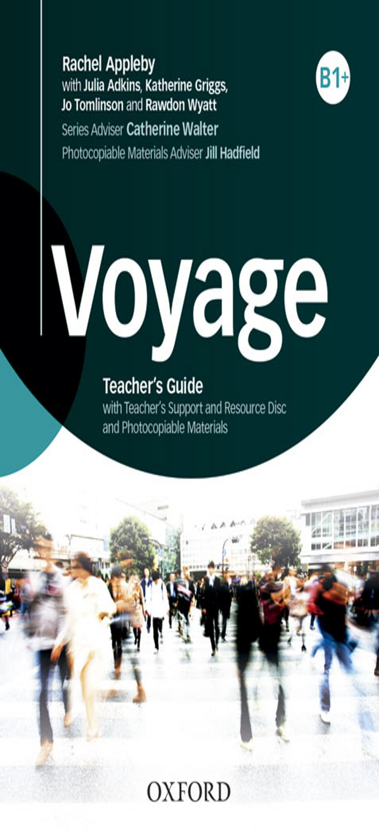 VOYAGE B1 + Teacher book + CD - Rom
