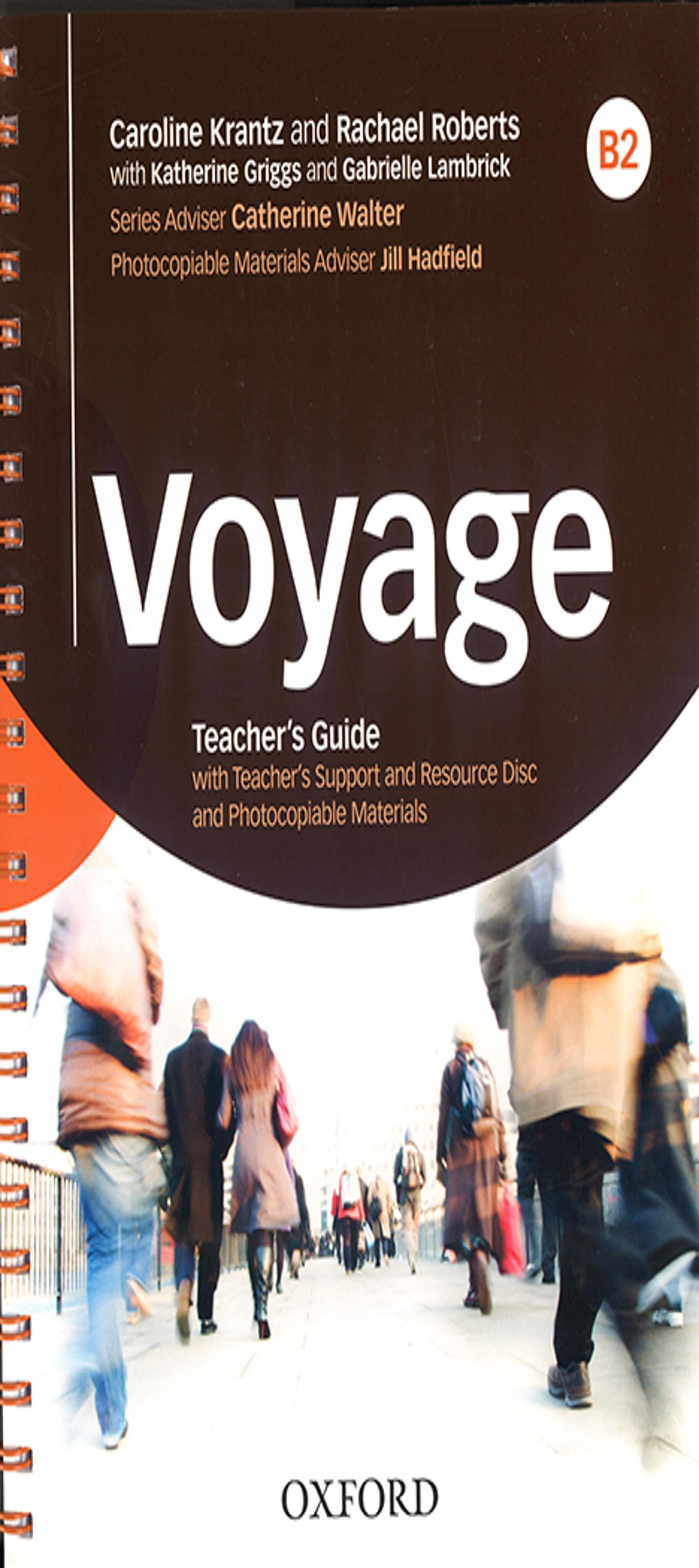 VOYAGE B2 Teacher book + CD - Rom