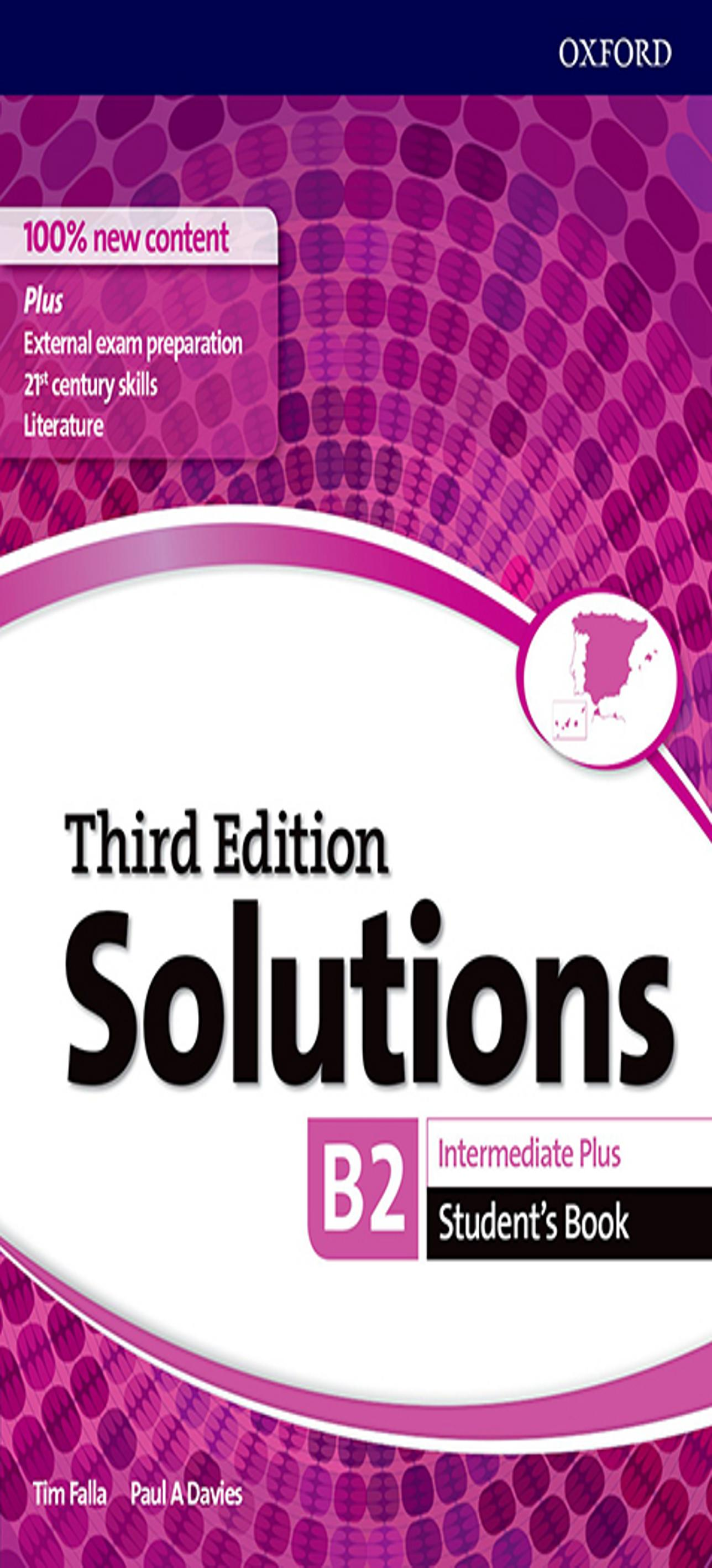 SOLUTIONS INTERMEDIATE PLUS SB 3ºEd