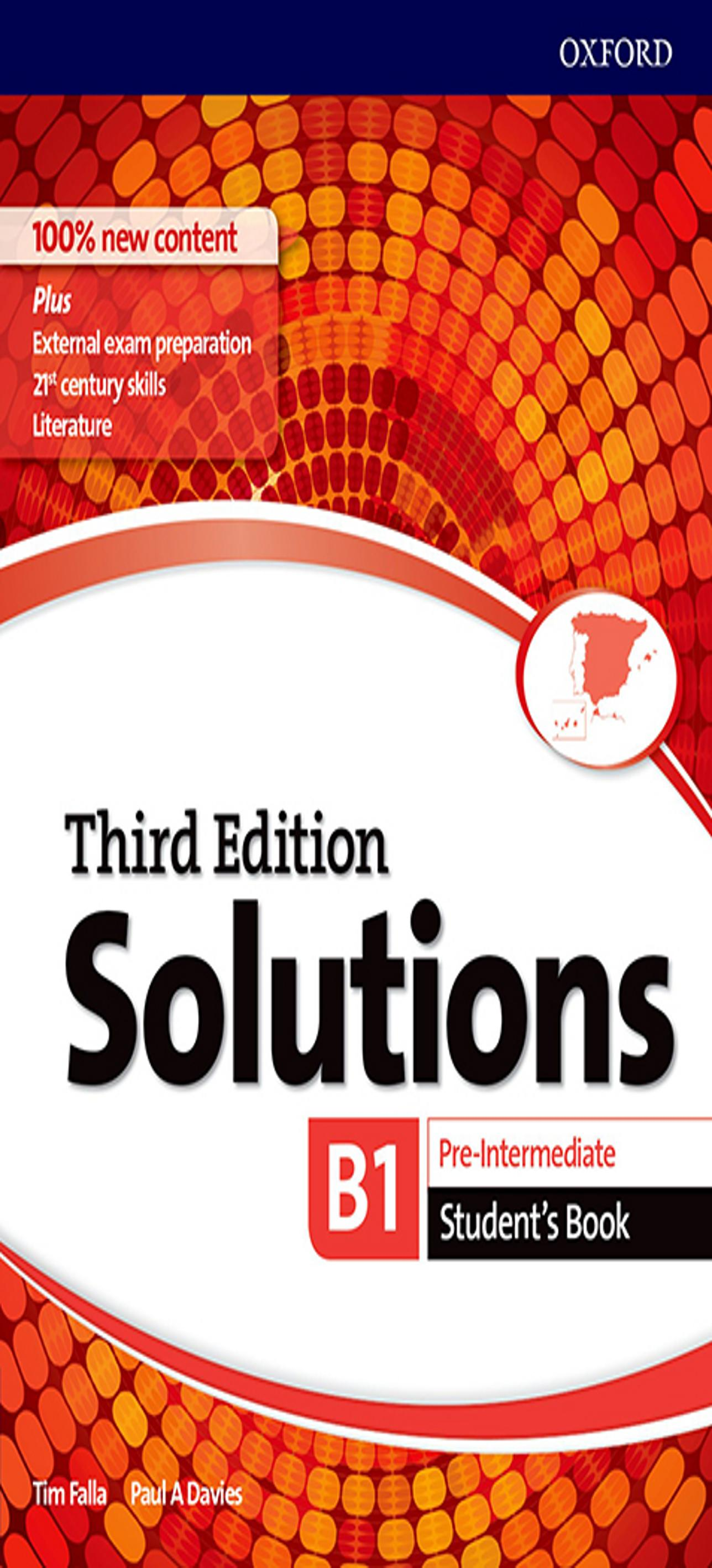 SOLUTIONS PRE-INTERMEDIATE SB 3ºEd