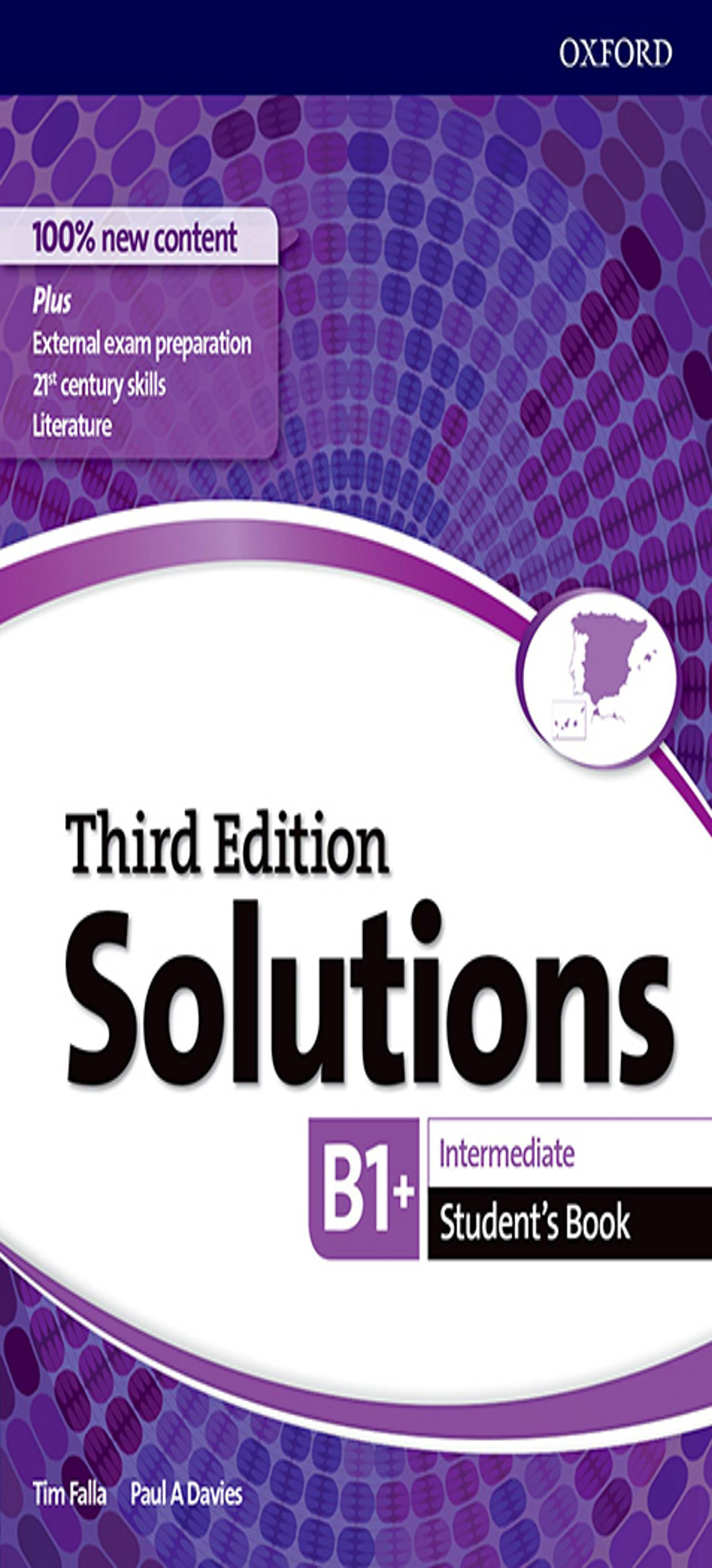 SOLUTIONS INTERMEDIATE SB 3ºEd