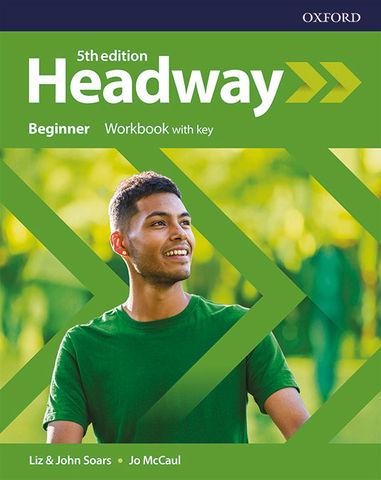 HEADWAY BEGINNER WORKBOOK  5th  edition