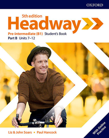 HEADWAY PRE- INTER SB split B + OL PRACTICE  5th edition