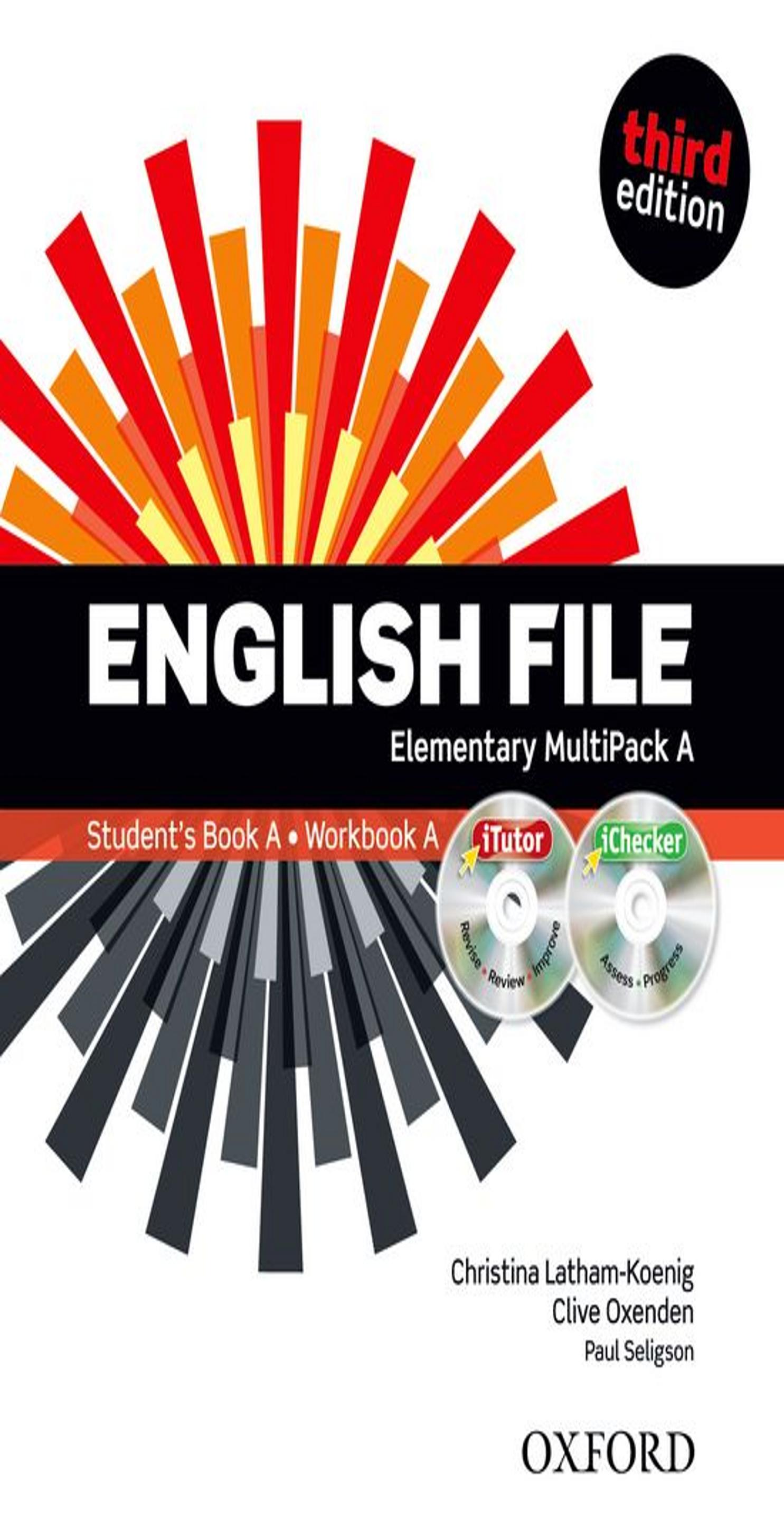 ENGLISH FILE ELEMENTARY SB +  WB MULTIPACK A Multirom + WB Key 3rd Ed