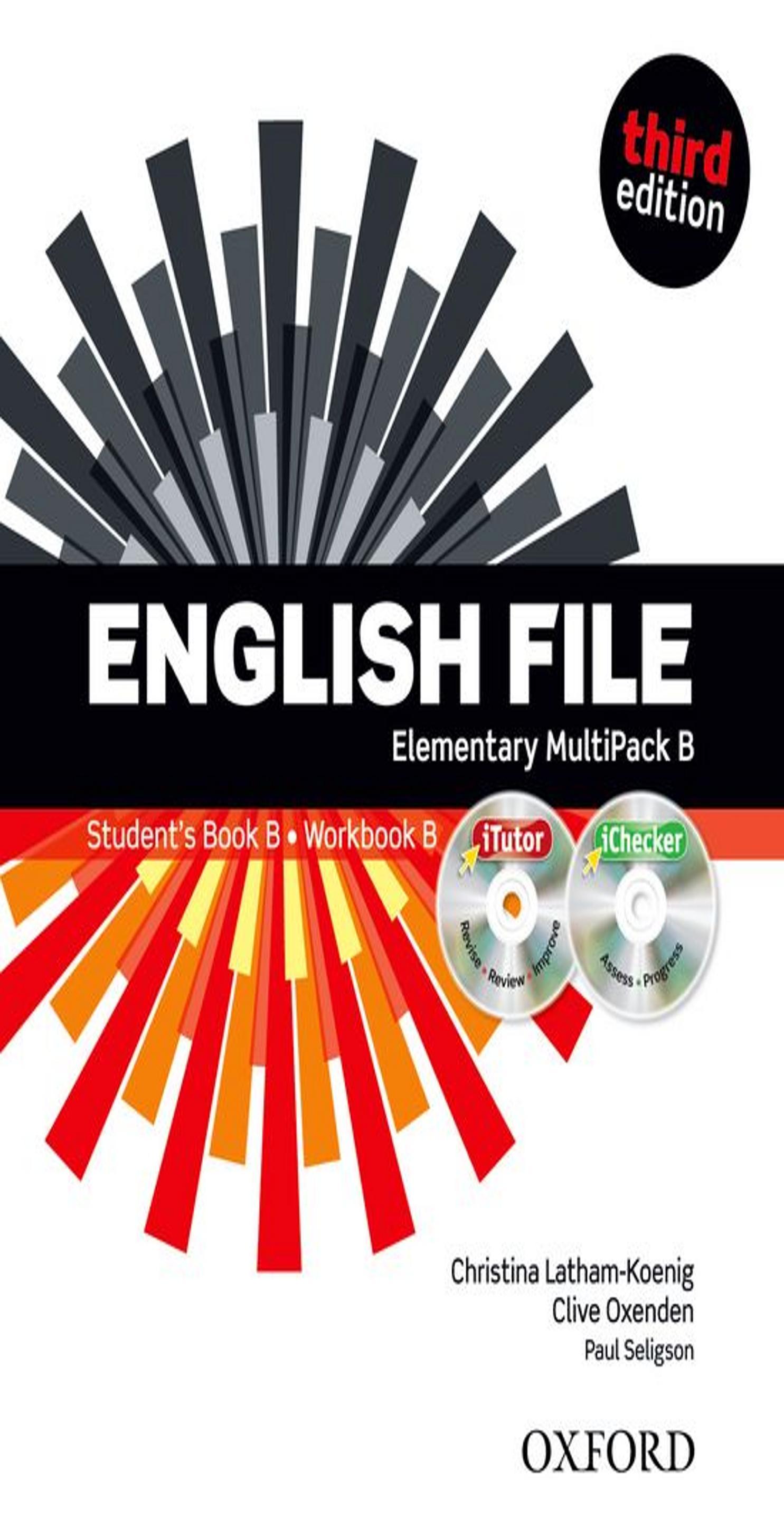 ENGLISH FILE ELEMENTARY SB +  WB MULTIPACK B Multirom + WB Key 3rd Ed