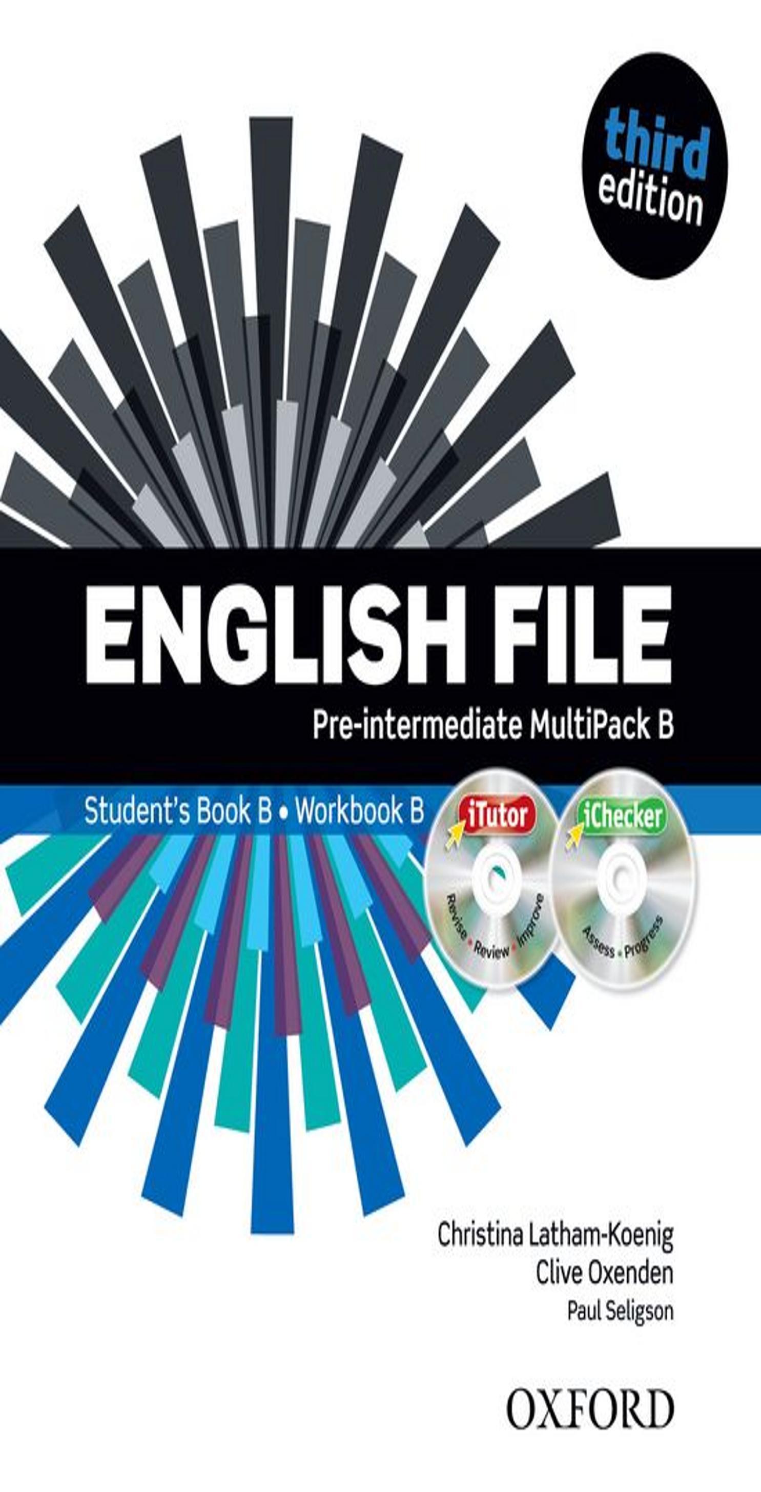 ENGLISH FILE PRE INTERM SB +  WB MULTIPACK B Multirom + WB Key 3rd Ed