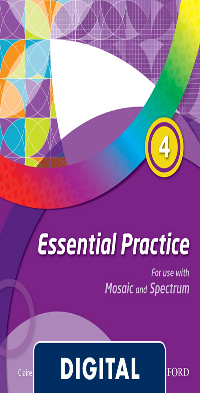 MOSAIC & SPECTRUM 4 WB Essential Practice