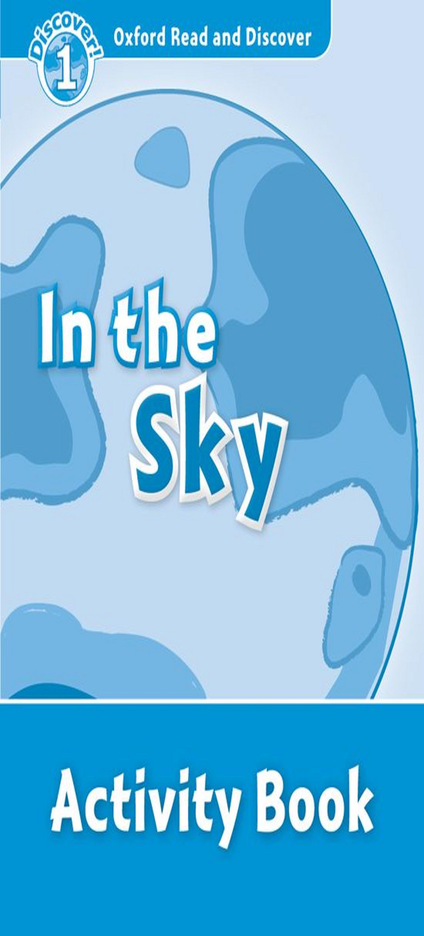 IN THE SKY Activity Book - ORAD Discover 1