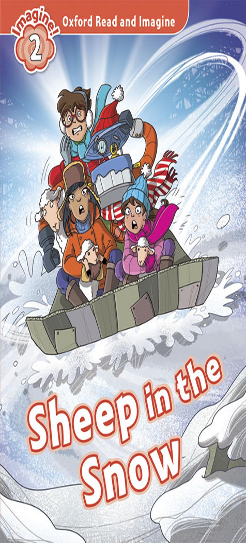 SHEEP IN THE SNOW - ORI 2