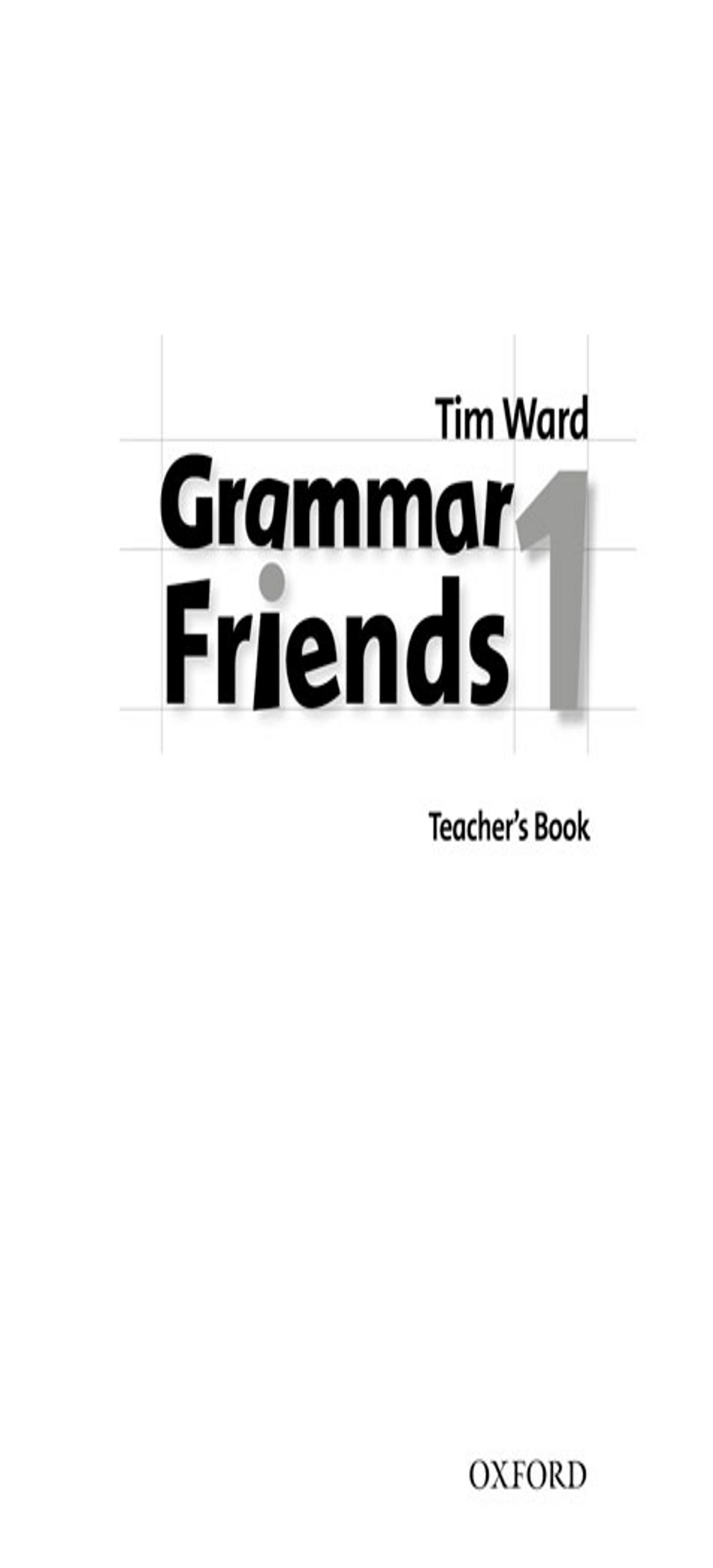 GRAMMAR FRIENDS 1 TB