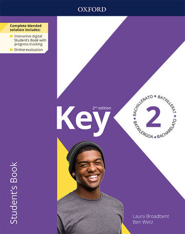 KEY 2 for BACHILLERATO SB 2nd Ed