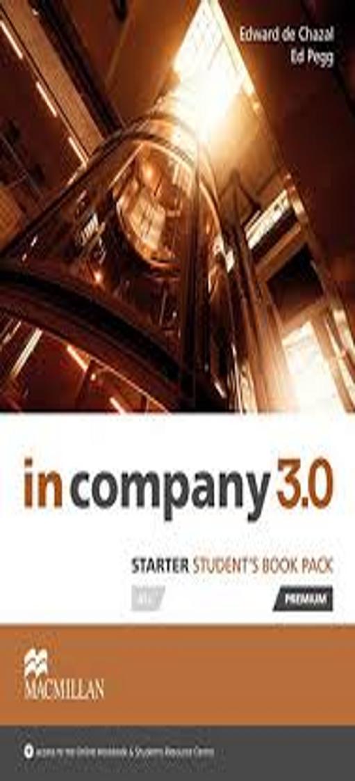 IN COMPANY 3.0 STARTER SB Pack