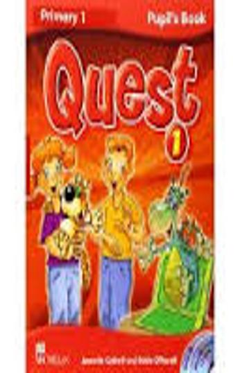 QUEST 1 Pupil´s Book + CD ROM+ CD Songs