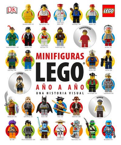 LEGO MINIFIGURAS AÑO A AÑO:UNA HISTORIA VISUAL.