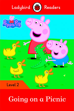 PEPPA PIG: GOES ON A PICNIC  - Ladybird Readers 2