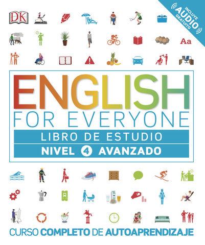 ENGLISH FOR EVERYONE 4 Libro de Estudio Nivel Avanzado