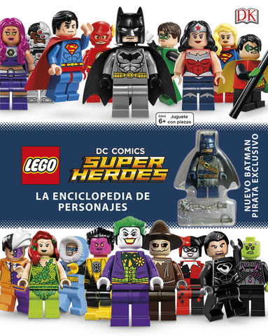 ENCICLOPEDIA DE PERSONAJES.(SUPER HEROES DC COMICS