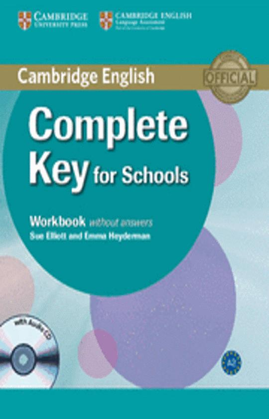 COMPLETE KEY FOR SCHOOLS WB + CD  (KET)