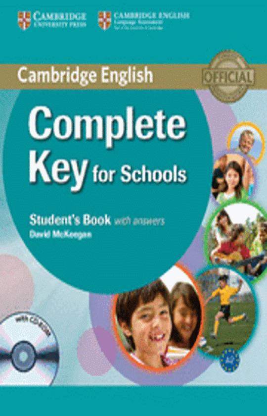 COMPLETE KEY FOR SCHOOLS SB with answers + CD ROM (KET)